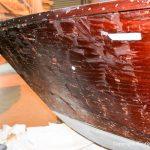 Refit einer Boesch 590 St. Tropez in der Werfthalle in der Bootswerft Baumgart in Dortmund